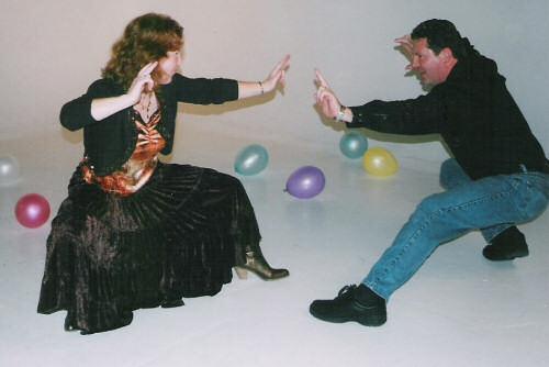 Kung Fu ballroom dancing
