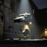 Alien abduction / recycling - istock