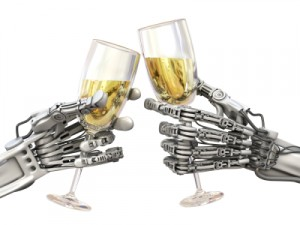 Robots and Champagne