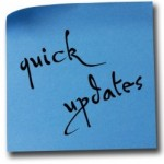 Quick Updates -- istock