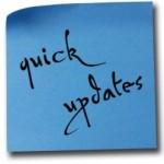 Quick Updates -- istock