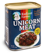 unicorn in a can
