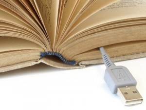 Book with USB
