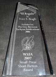 WSPA Award 2007