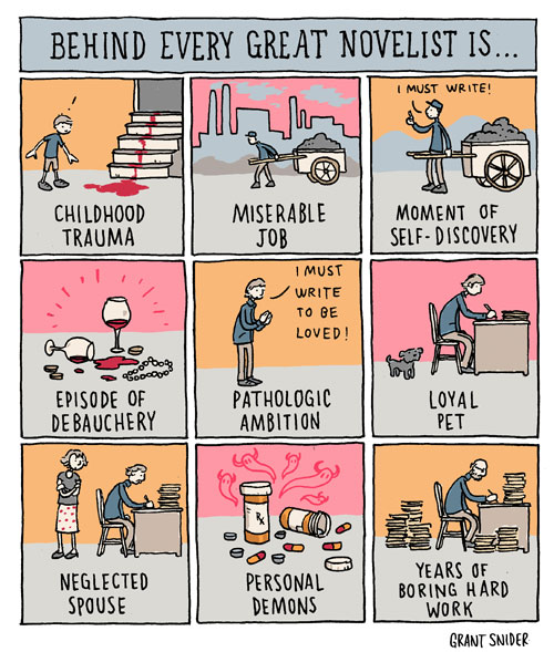 Behind Every Great Artist comic